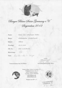 Niederrhein Sieger 2012